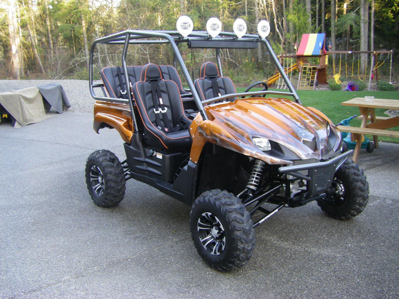 Utv Rear View Mirror >> utv crap NEW 4 seat cage and bench seat - Kawasaki Teryx Forum