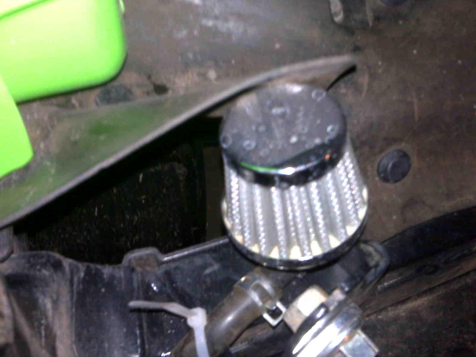 Need Some Help With Fuel Tank Vent Filter Kawasaki Teryx