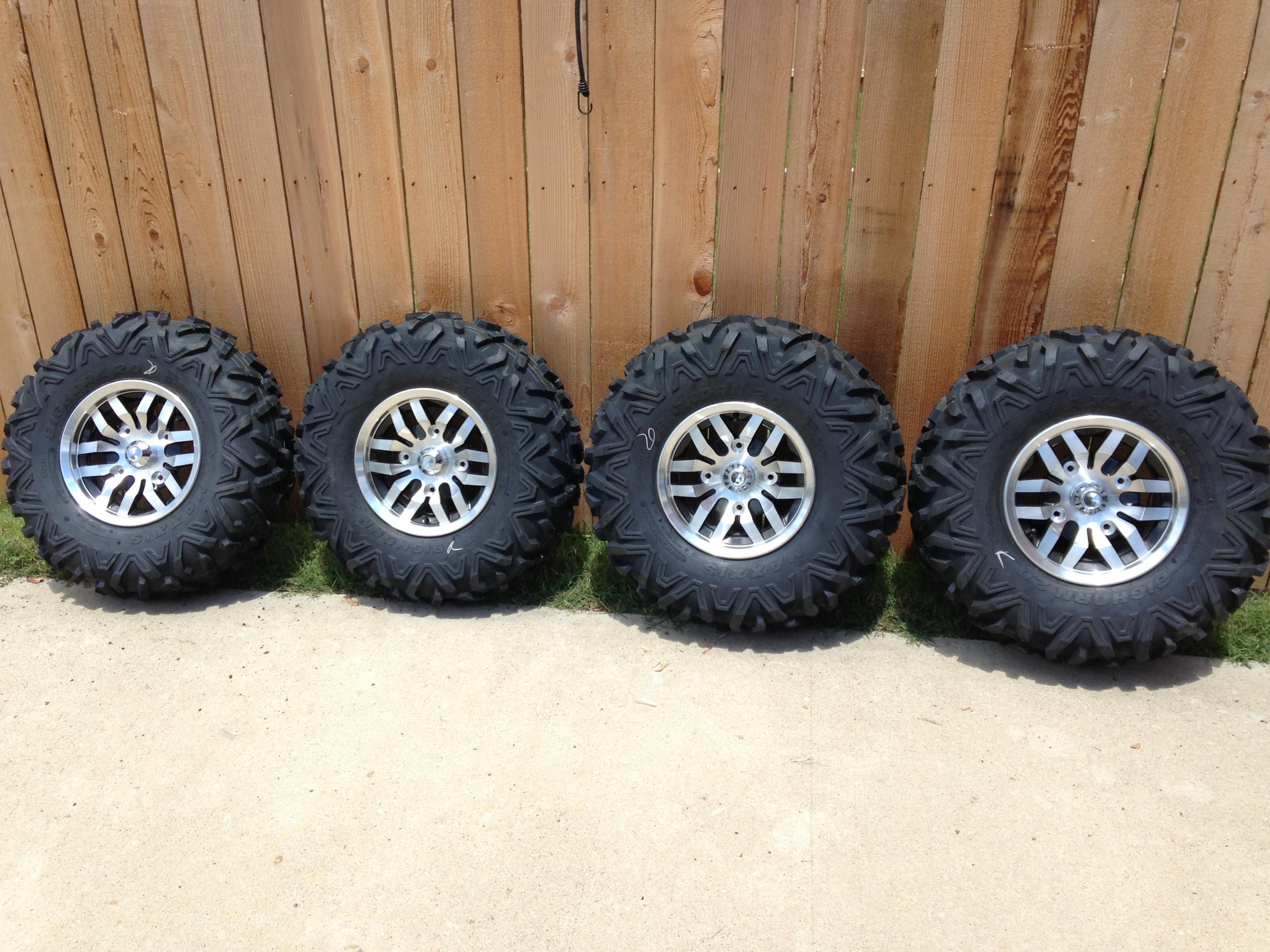 How To Buy Tires >> Stock 2014 Teryx4 LE Wheels/Tires 4 Sale - Kawasaki Teryx Forum
