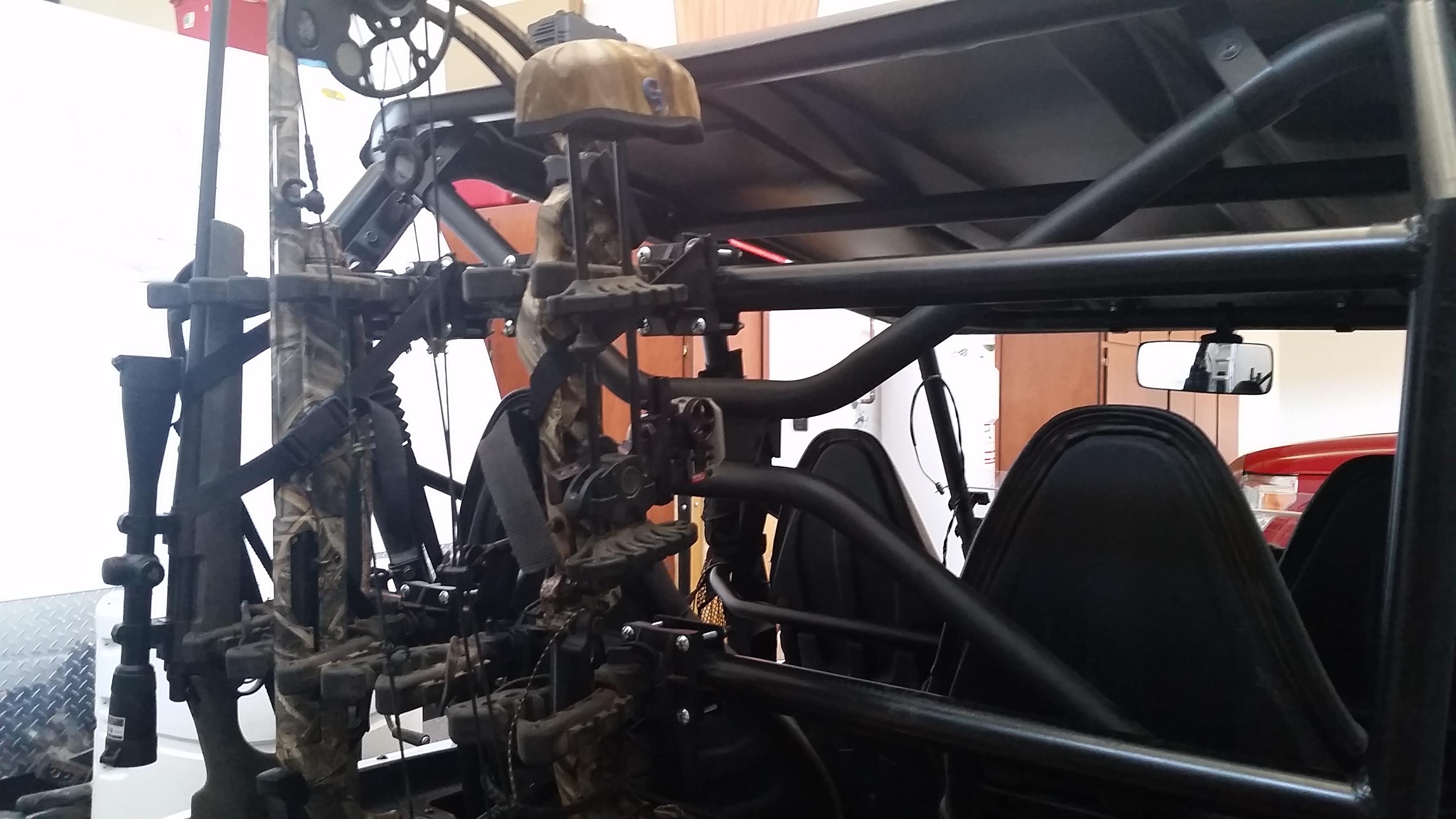 kawasaki teryx gun rack