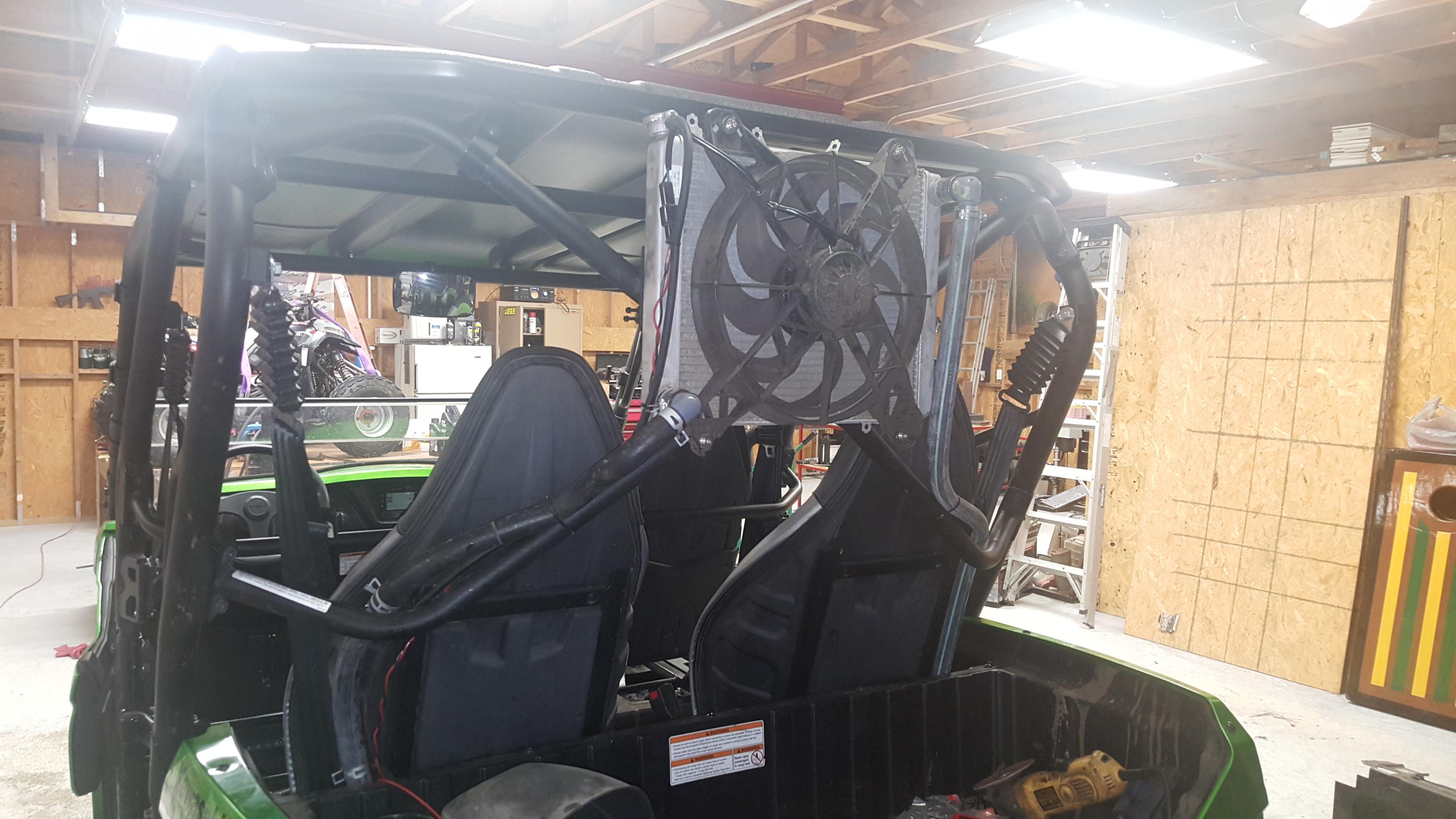 Radiator mud issues- Any Solutions? - Kawasaki Teryx Forum