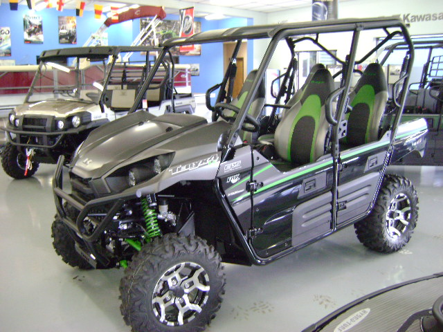 fs: il 2016 kawasaki teryx4 800 le grey/black/green with tons of