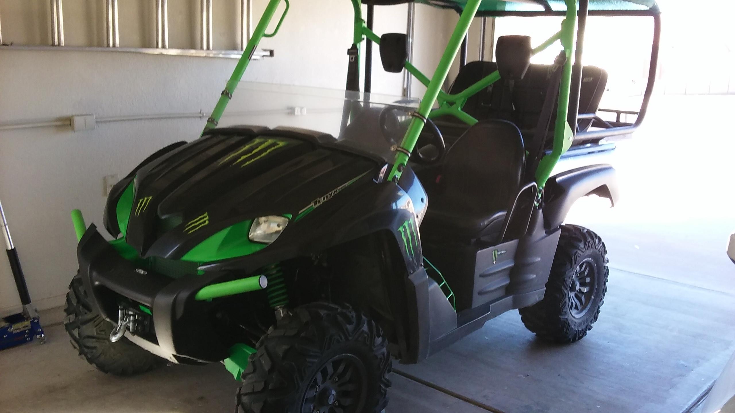2009 Teryx 750 Monster Energy Edition