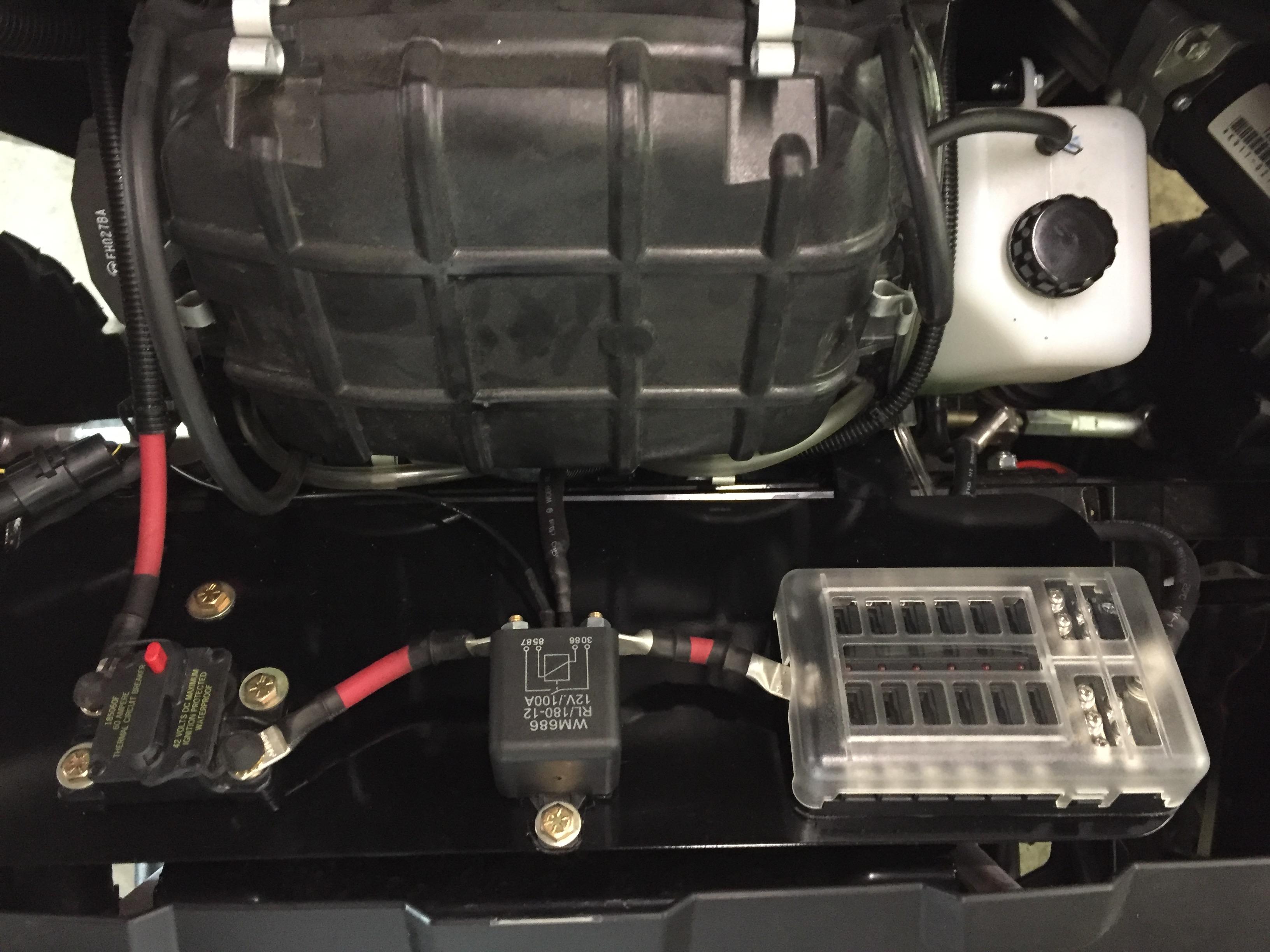 Teryx 4 Accessory Fuse Panel Kawasaki