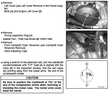 How To Adjust Valves On Kawasaki Brute Force