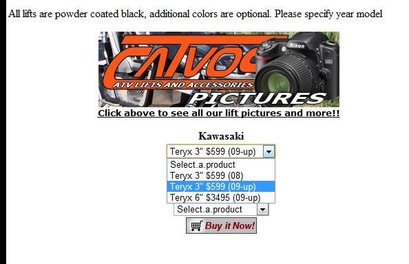 Catvos Installed - Kawasaki Teryx Forum