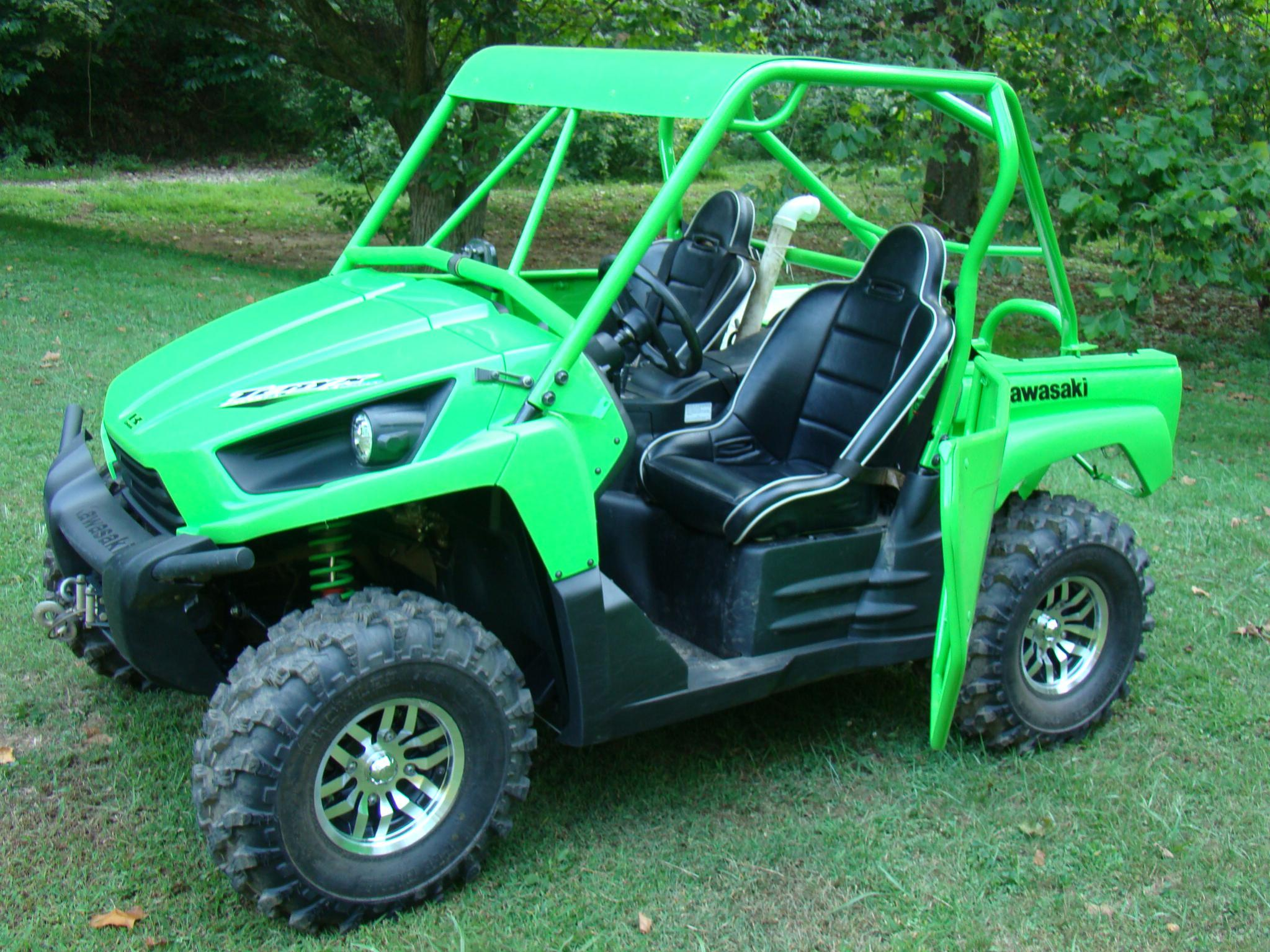 ... Click image for larger version Name DSC01345.jpg Views 586 Size 430.5 & My new to me Induced Fab doors - Kawasaki Teryx Forum