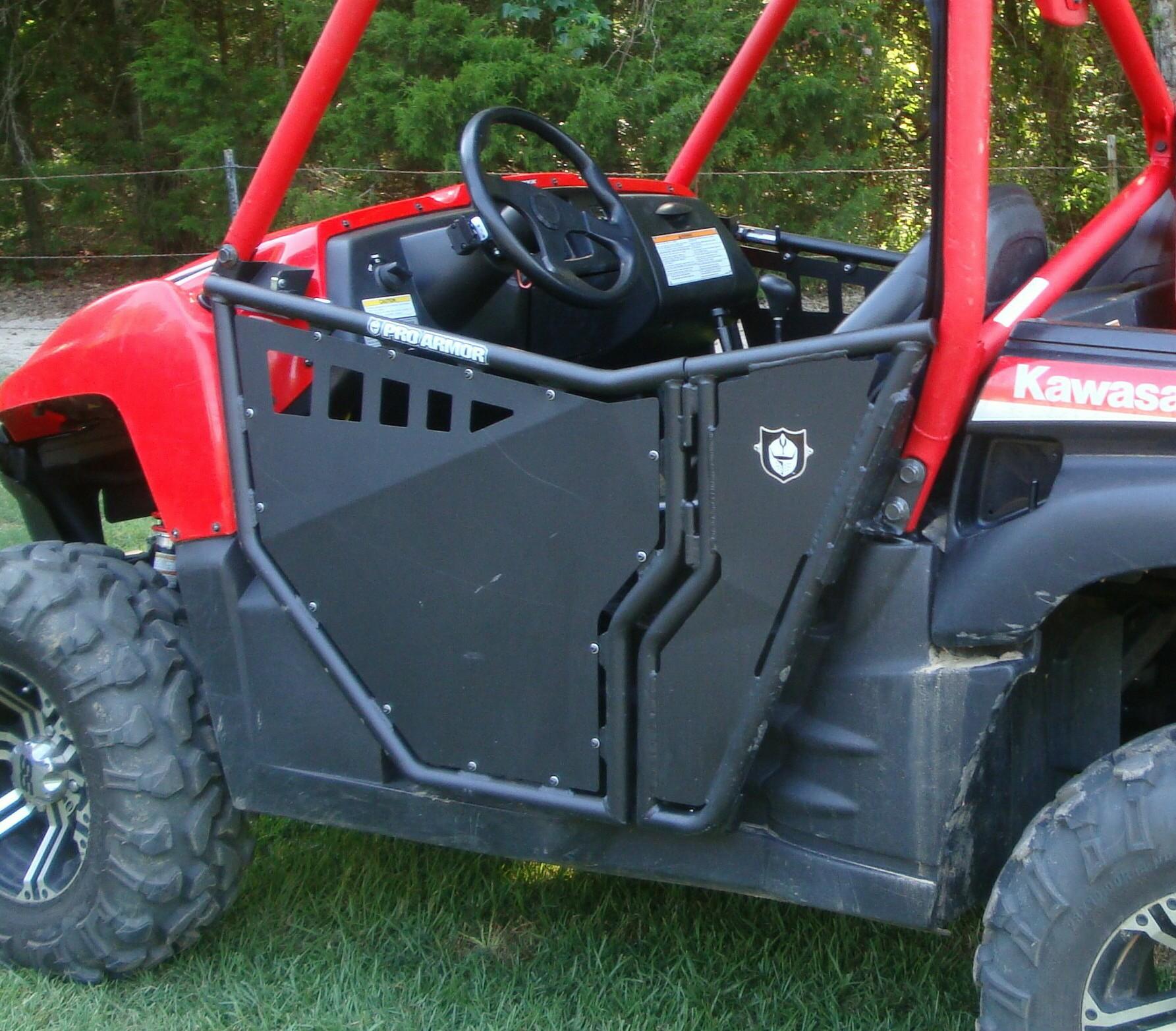 & My New Pro Armor Doors - Kawasaki Teryx Forum