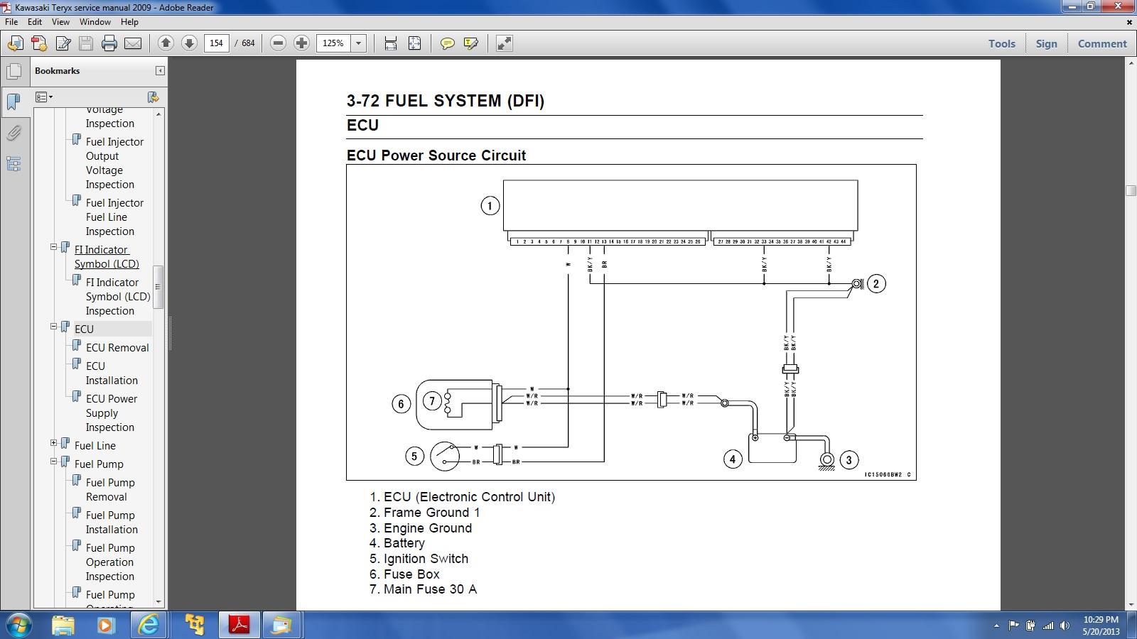 2011 Kawasaki Teryx Wiring Diagram