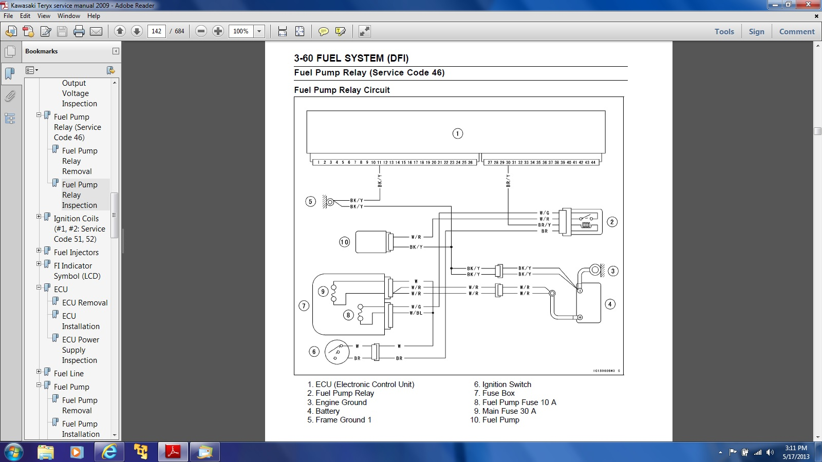 14149d1368821560 no power fuel pump ecu issues fuel pump wiring diagram wiring diagram for kawasaki zx6r 100 images fuel tank switch Kawasaki Mule Wiring-Diagram at cos-gaming.co