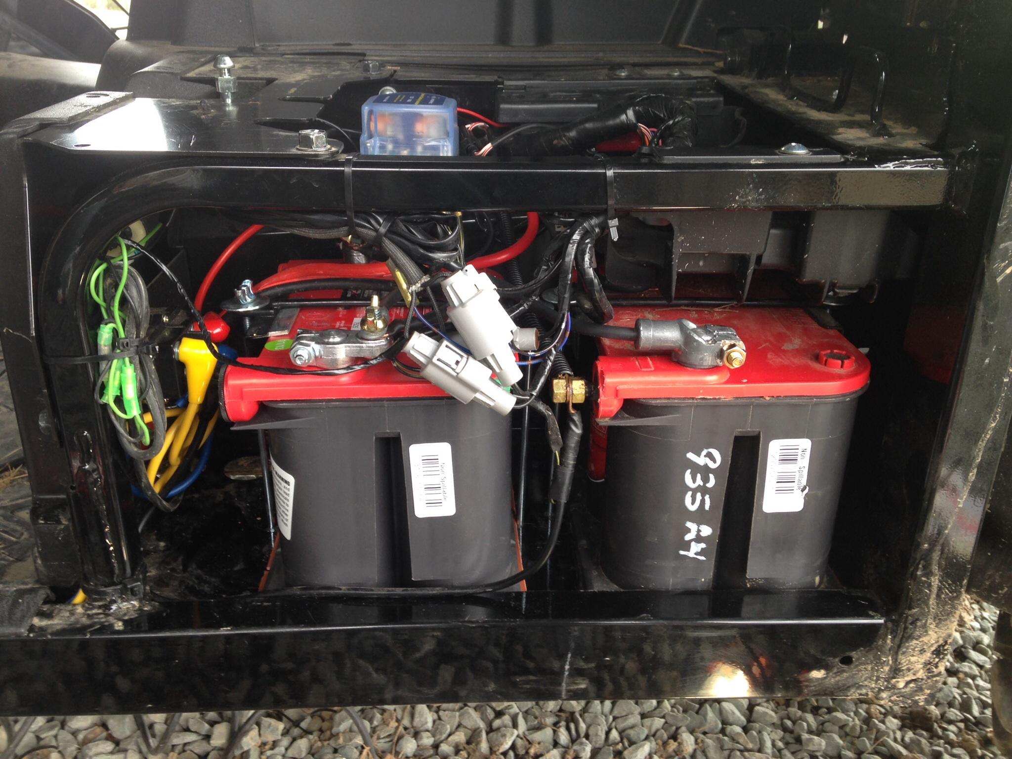2012 T2 Dual Battery And Isolator Setup Kawasaki Teryx Forum