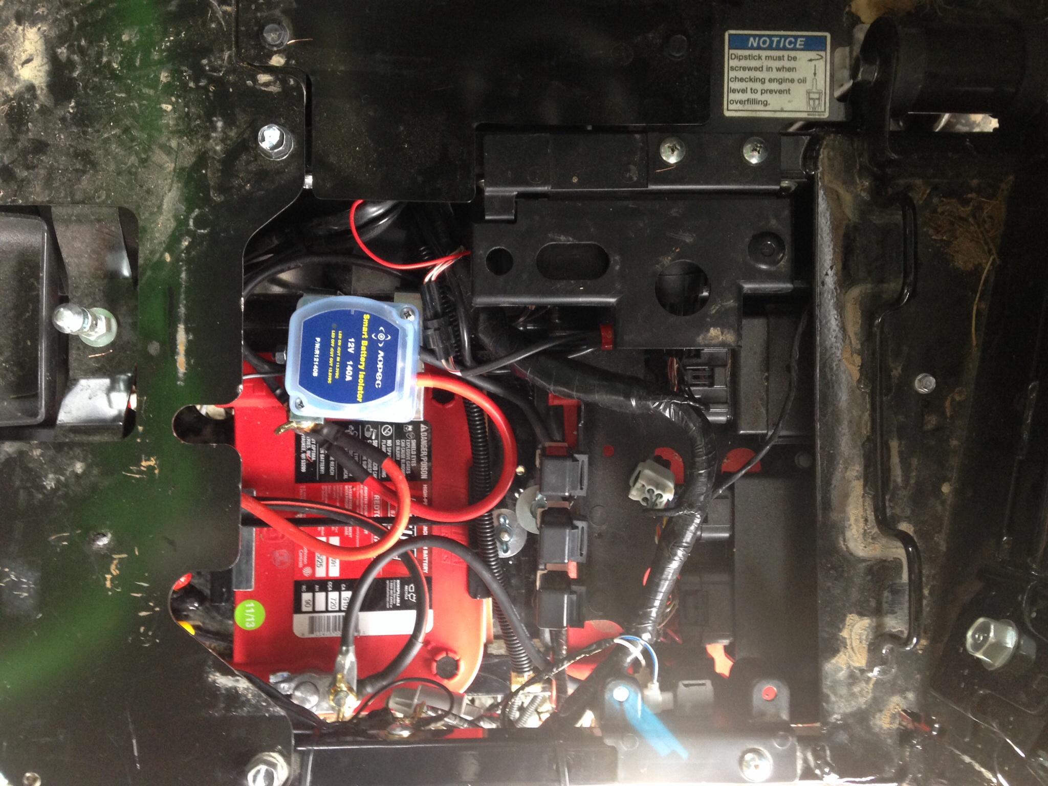 Kawasaki Teryx Battery