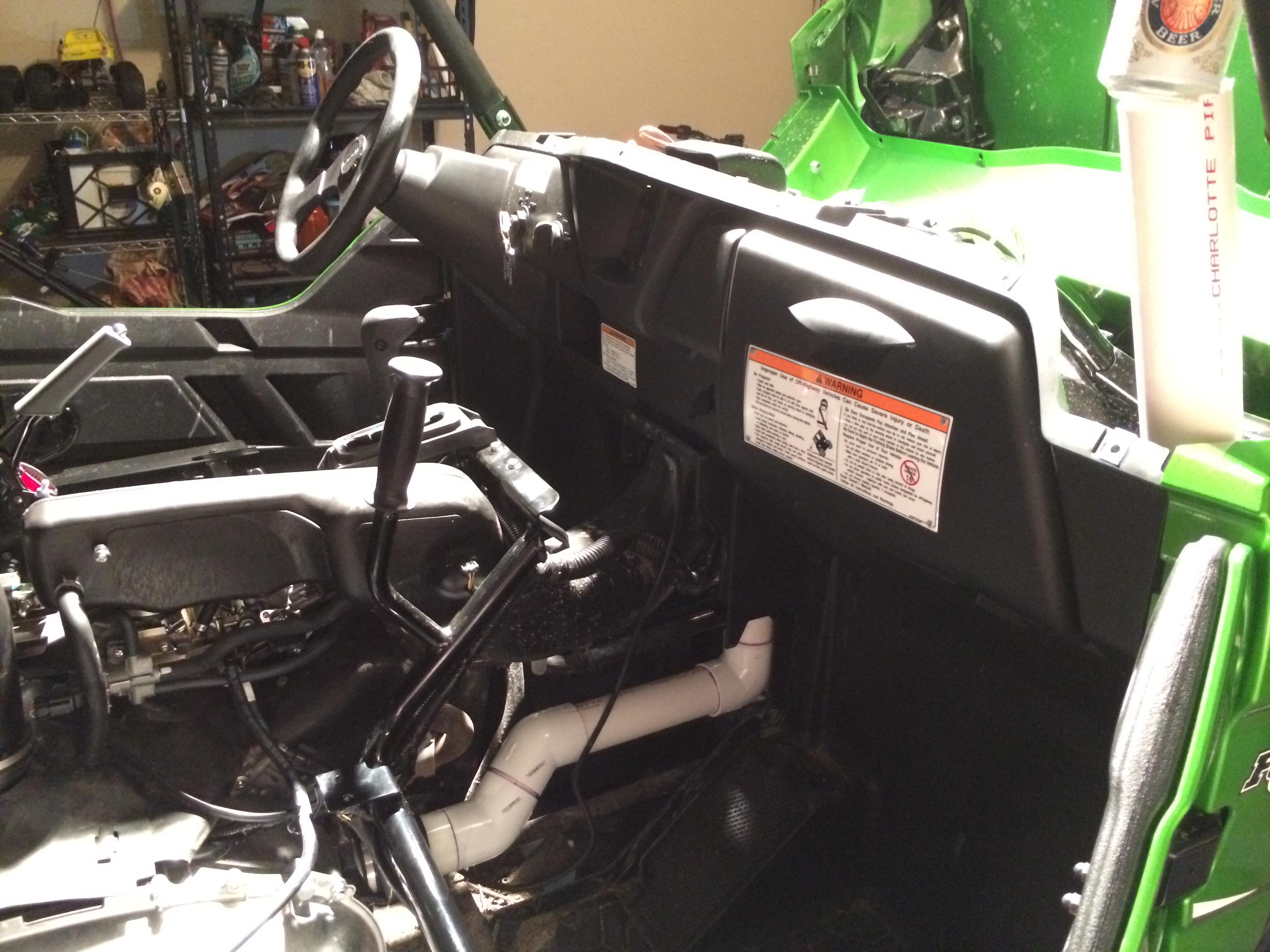 Kawasaki Teryx Fuel Vent Mod