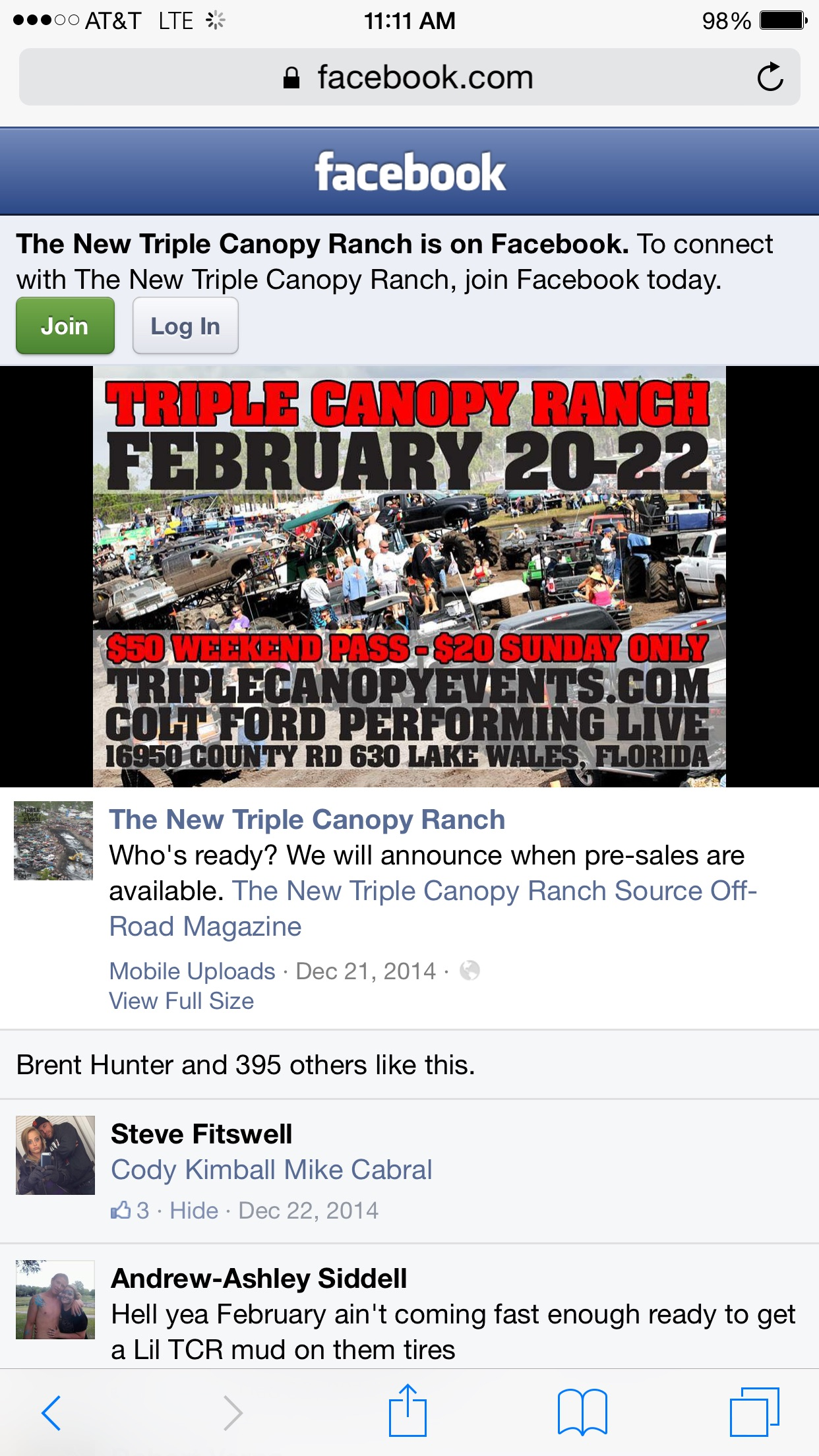 Click image for larger version Name image.jpg Views 833 Size 579.2  sc 1 st  Kawasaki Teryx Forum & Triple Canopy Ranch FL! Feb 20-22 mud event - Kawasaki Teryx Forum