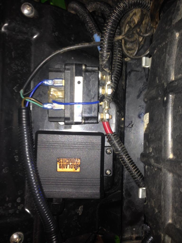 Badland Winch Wireless Remote - DATA WIRING •
