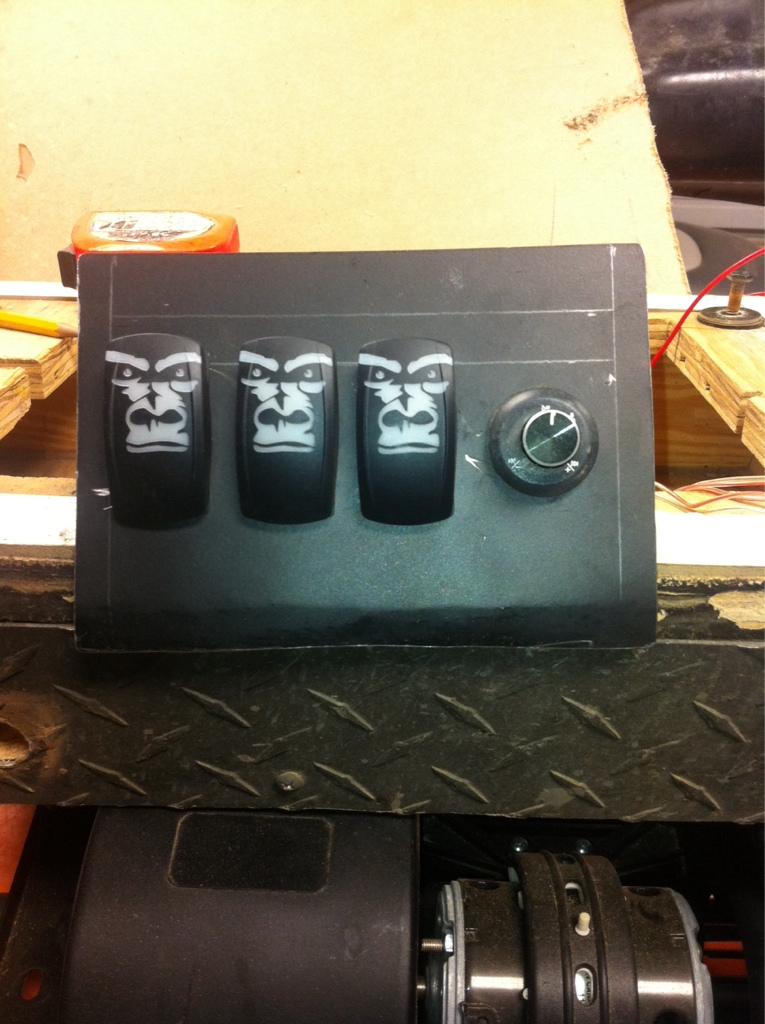 Adding A Rocker Switch Panel Kawasaki Teryx Forum