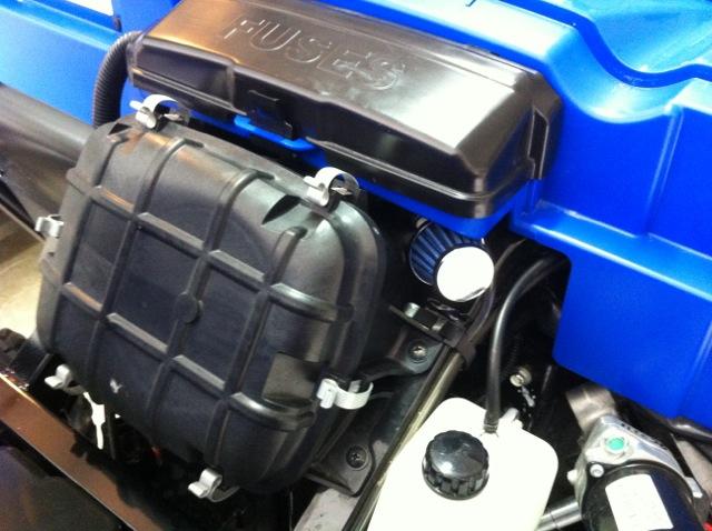 mod to save teryx4 fuel pump/fuel tank/check valve from debris