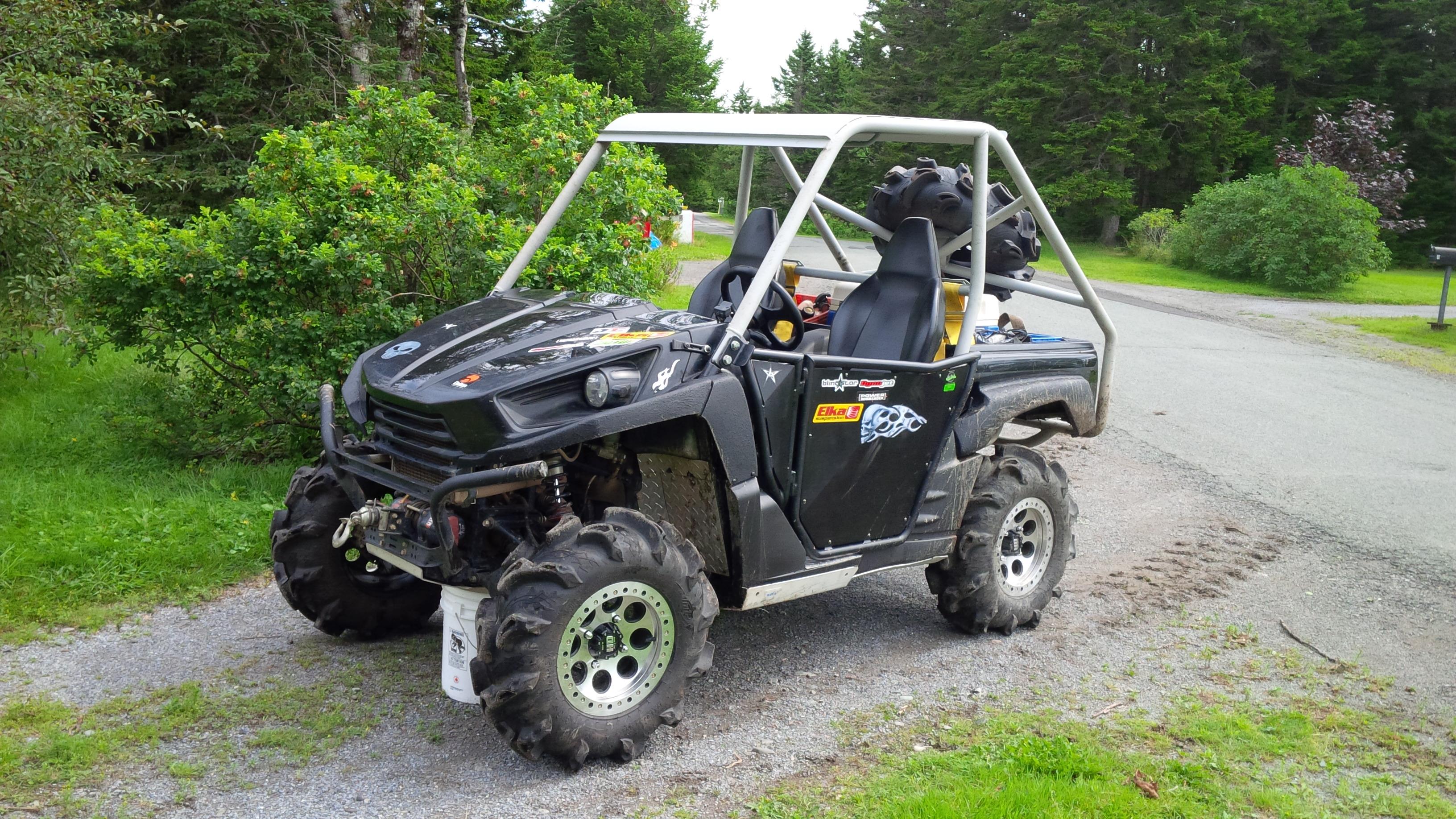Custom Cage Build On My Ride Kawasaki Teryx Forum