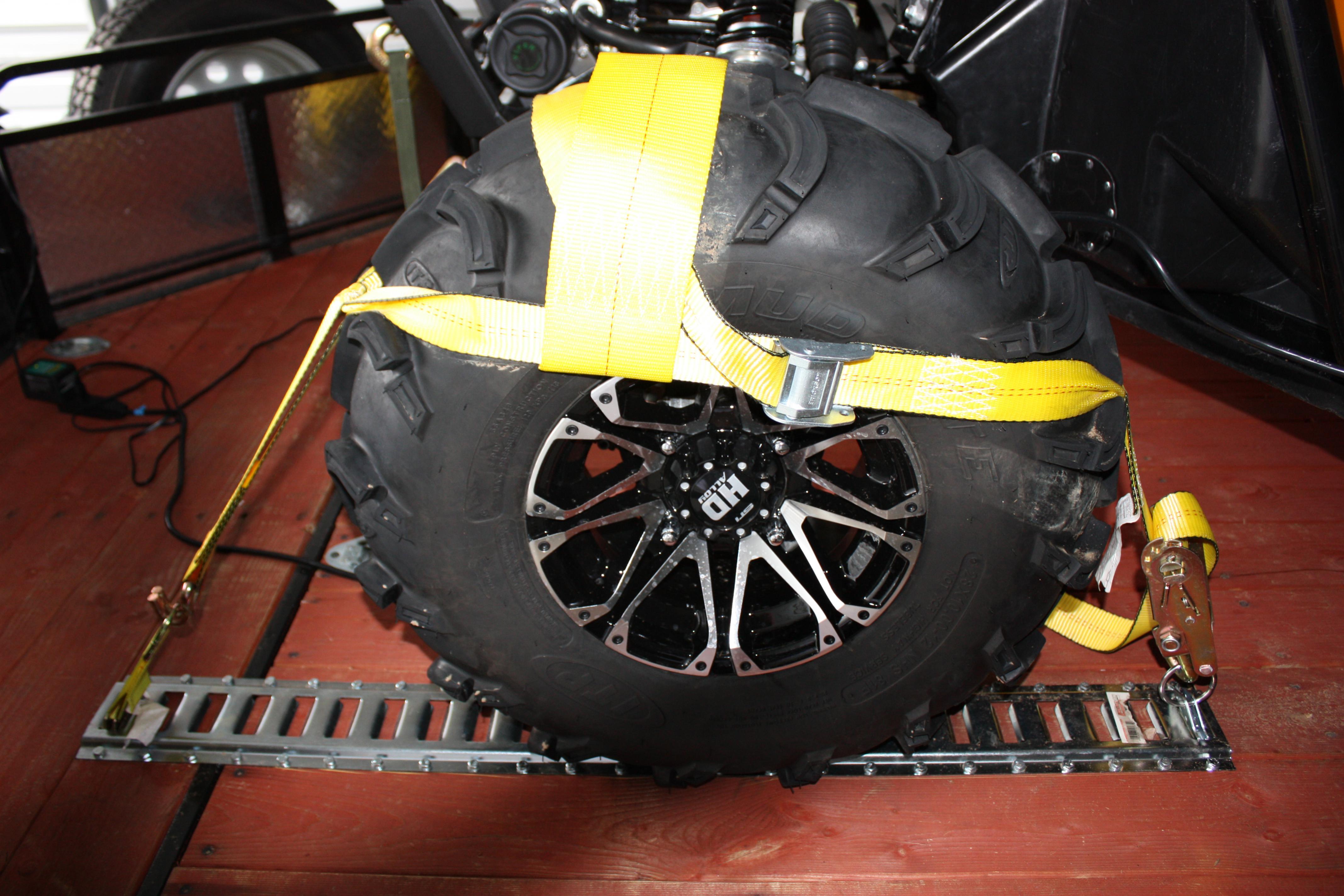 Tire Tie Downs For Utv Image Of Tie