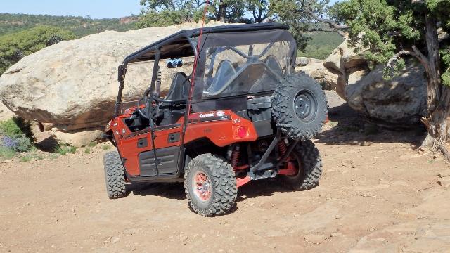 Spare Tire Mount Kawasaki Teryx Forum