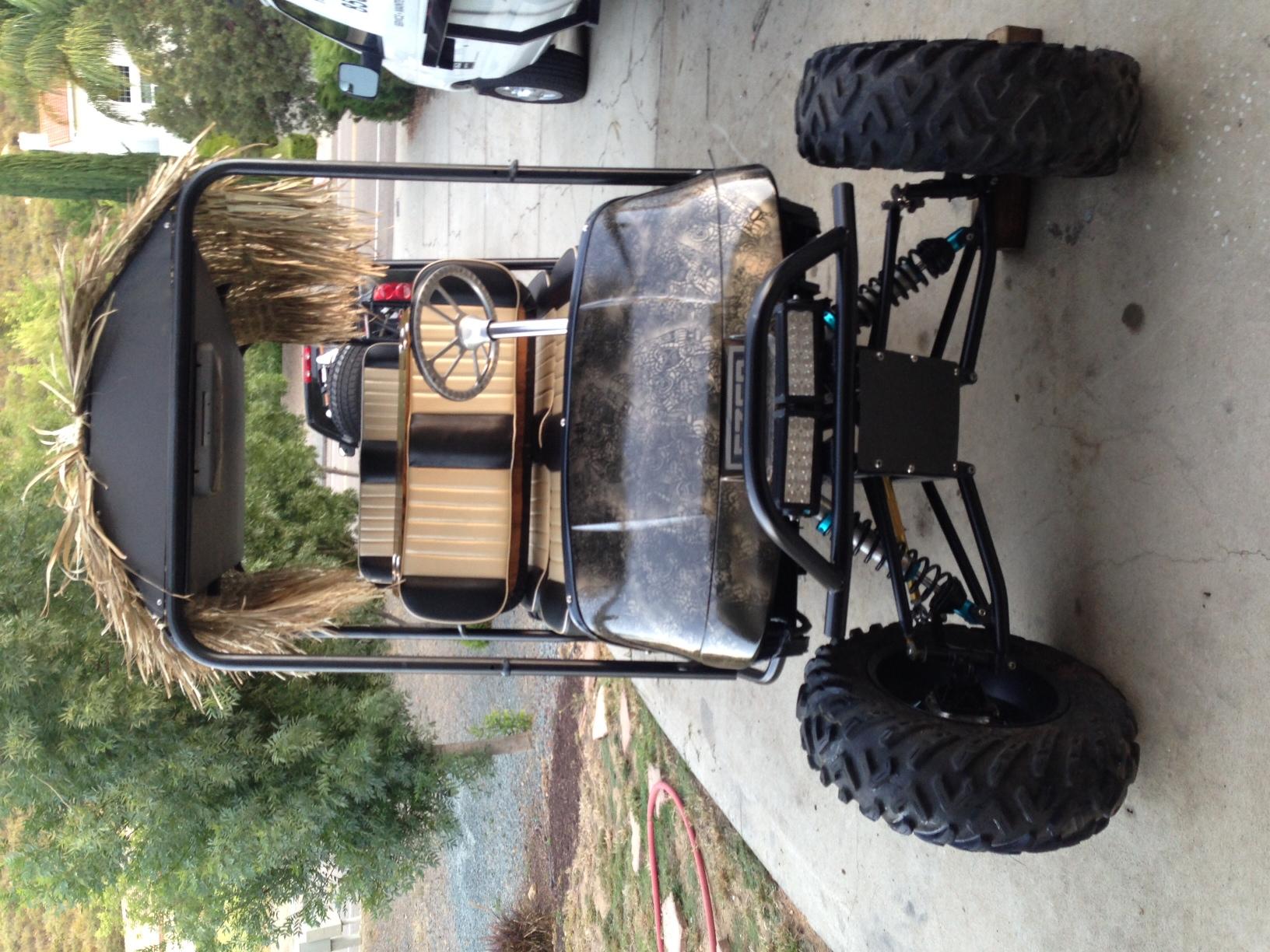EZGO Limo Stretch Golf Cart - Kawasaki Teryx Forum
