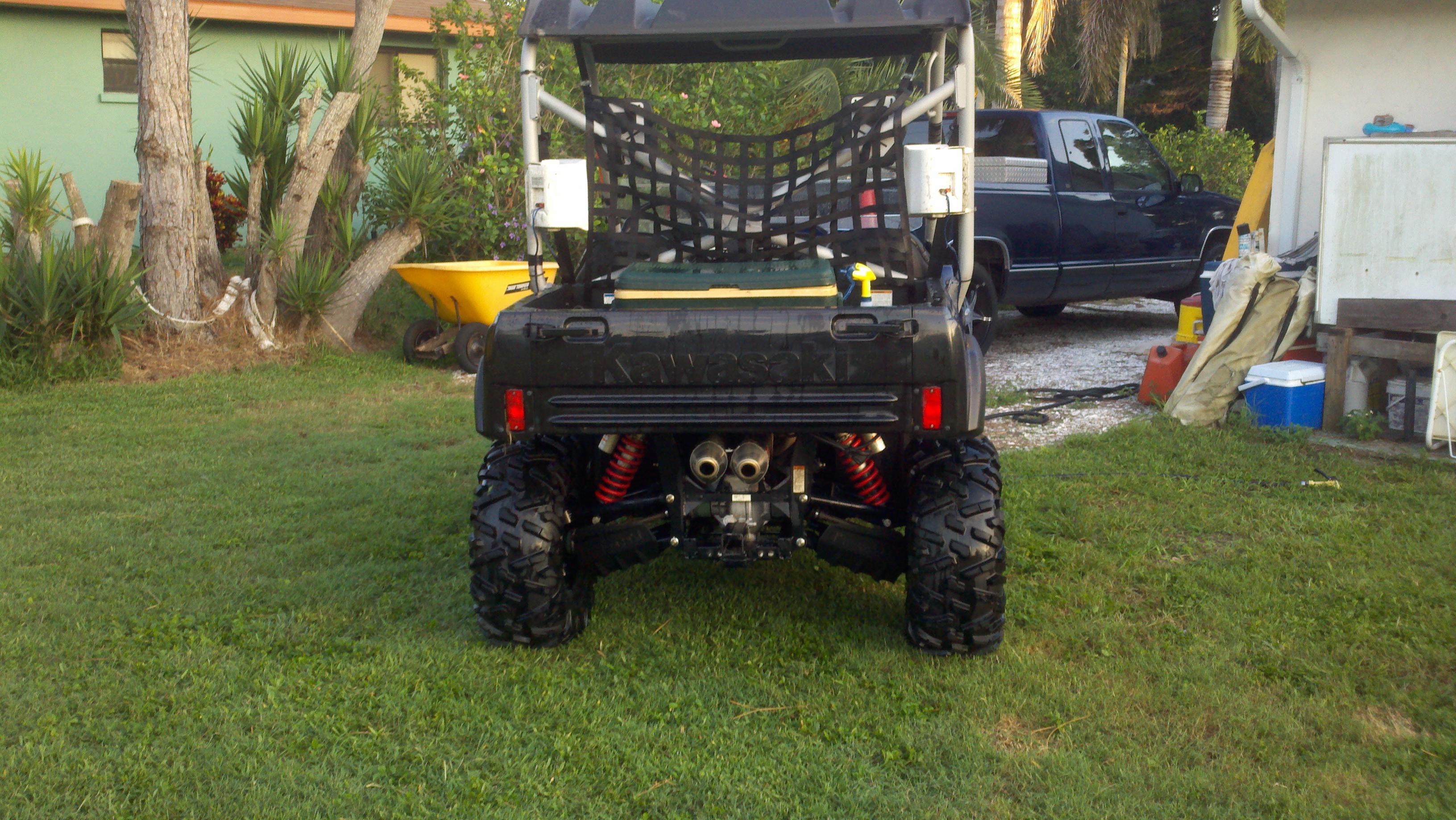 Will Commander wheels fit? - Kawasaki Teryx Forum