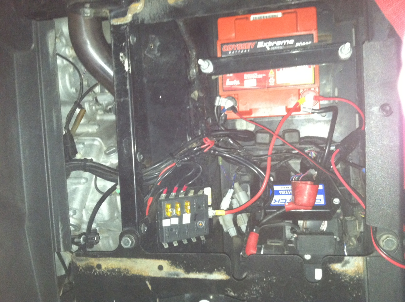 Summer Project Dual Battery Setup And Fuse Block Kawasaki Teryx Old 60 Amp Box Click Image For Larger Version Name Securedownload Views 1963 Size 4660