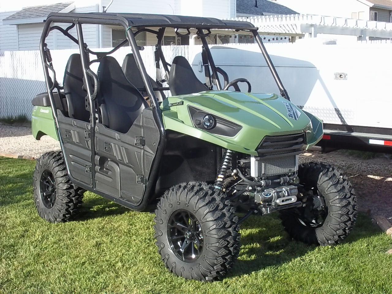 How Much Is A Lift Kit >> TERYX 4 lift & wheels & tires - Kawasaki Teryx Forum