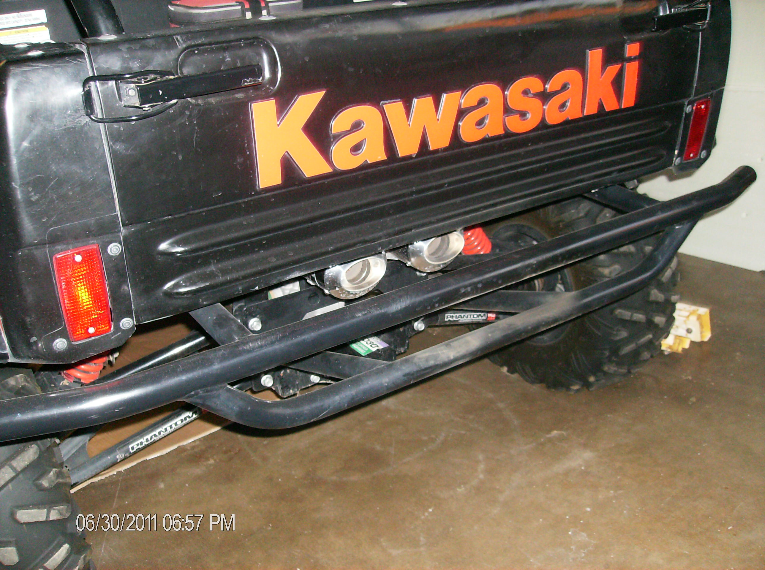 Kawasaki Teryx T4 Rear Inlays Printed Designs