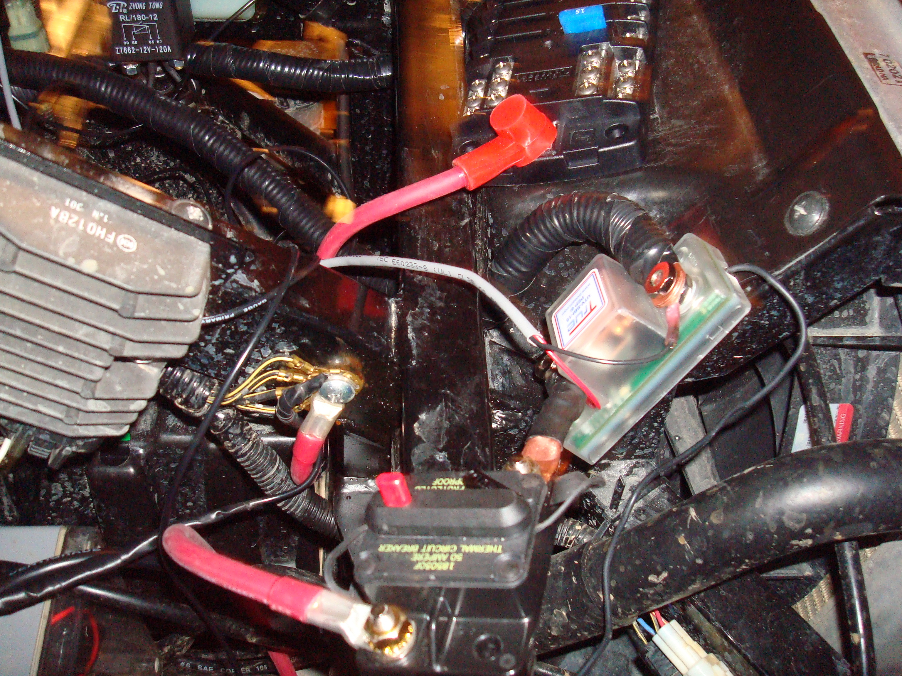 Teryx 4 2012 Battery 2  Fuse Box