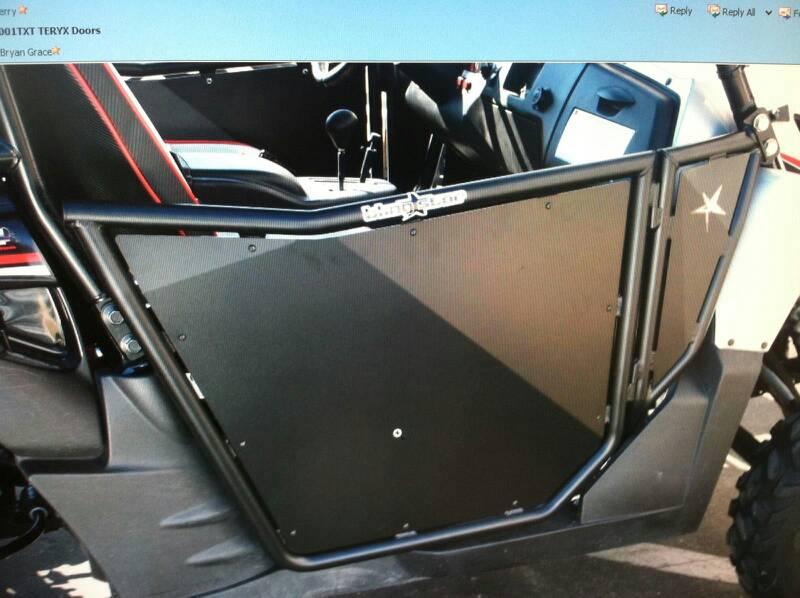 Click image for larger version Name uploadfromtaptalk1362456405344.jpg Views 2382 Size 59.6 & We have BlingStar doors for teryx 2 on sale - Kawasaki Teryx Forum pezcame.com