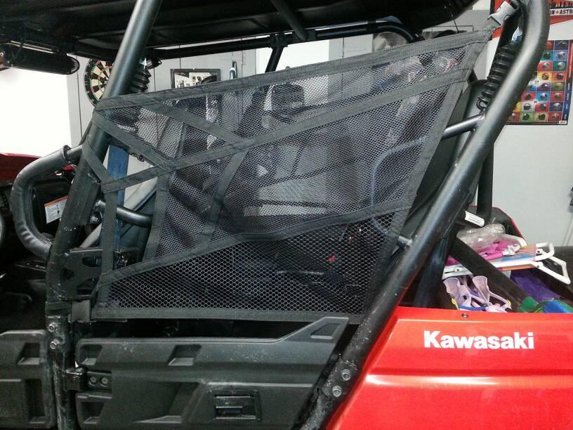 Window Nets Kawasaki Teryx Forum