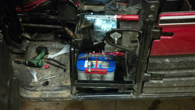 Secondary Battery For Audio Kawasaki Teryx Forum