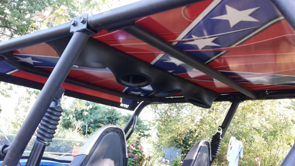 Custom Fiberglass Over Head Speaker Enclosure Page 2